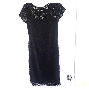 Beautiful Black Lace Dress Size Large